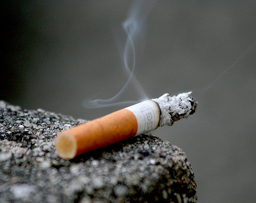 A ballot measure to impose a new tax on tobacco products appeared to be failing today, though the vote was still too close to call.