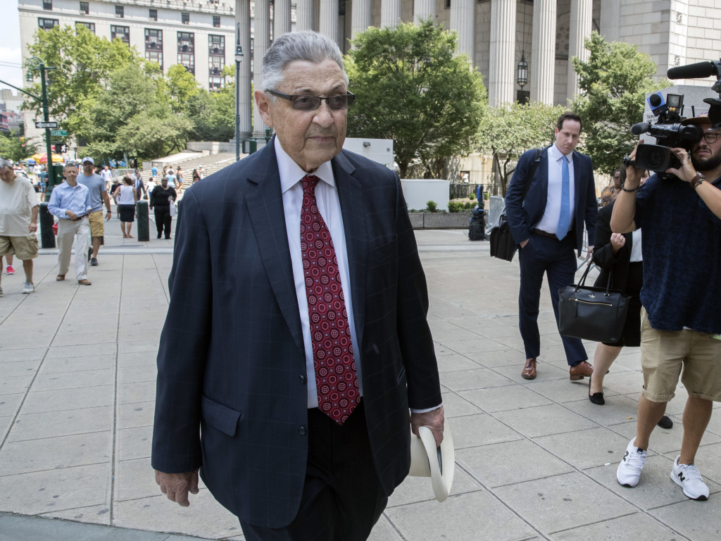 Former New York Assembly Speaker Sheldon Silver was sentenced to seven years in prison at a federal court in New York on Friday. He brokered deals for two decades before corruption charges ended his career.