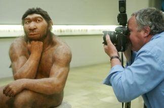 Prehistoric Museum in Halle, eastern Germany