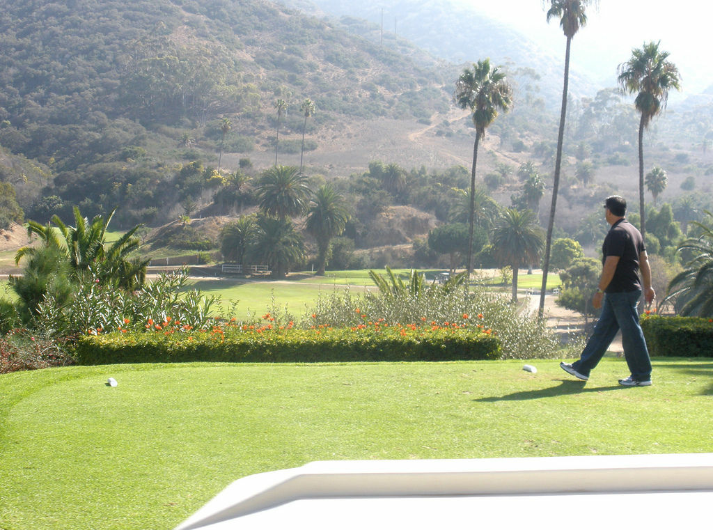 Catalina Island golf course in 2009