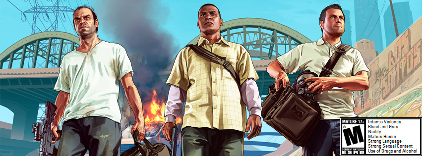 Still from Grand Theft Auto V.