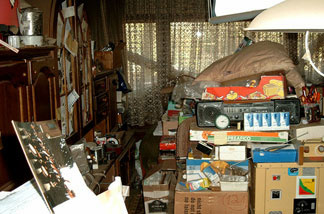 Many people with a hoarding anxiety disorder need to take baby steps in order to cope with organization — like cleaning a bit at a time, rather than getting rid of everything at once.