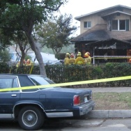 Pasadena House Fire