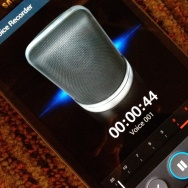 cell phone audio recording