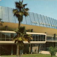 """Los Angeles Memorial Sports Arena, 'the newest and most modern sports arena in the country ... built at a cost of nearly six million dollars."""""""
