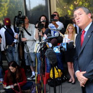 Steve Whitmore at Lindsay Lohan Probation Hearing