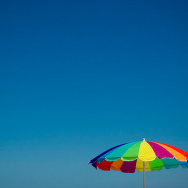 beach umbrella weather hot heat