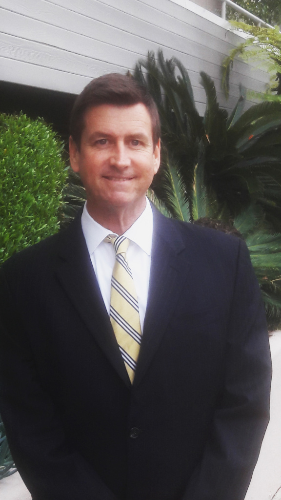Mark M. Herd, one of the three candidates from District 5 running for City Council.