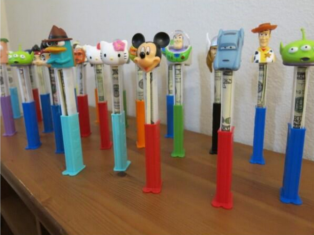 Hidden Cash embarks on a Pez tour.