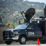 NBC Los Angeles recently purchased of state-of-the-art truck with a mobile Doppler radar attached to the back. They named it Storm Ranger.
