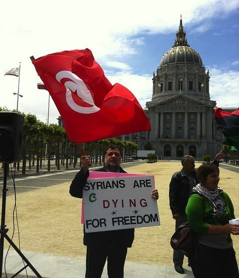 Protesters in San Francisco, June 2011