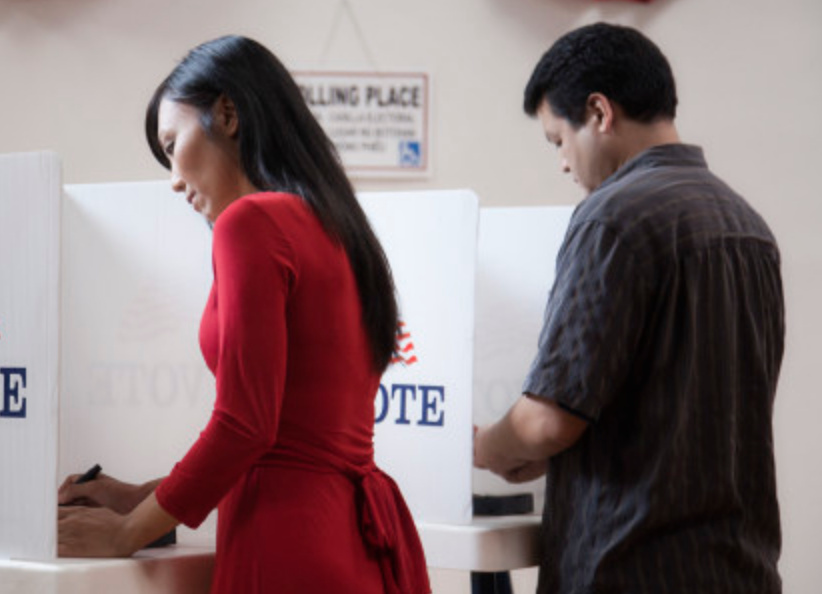 Asian Americans are the country's fastest-growing racial group but their voter participation rates lag blacks, whites and Latinos.