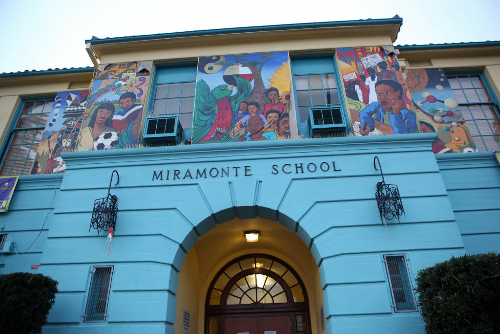 File photo: Miramonte Elementary School in Los Angeles, California February 6, 2012.