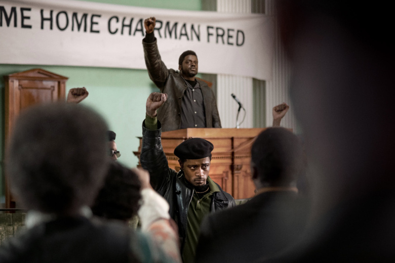 Daniel Kaluuya as Fred Hampton and LaKeith Stanfield as Bill O'Neal in