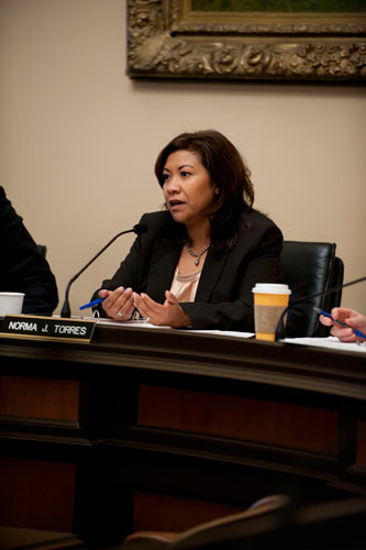 Assemblymember Torres (D-Chino)