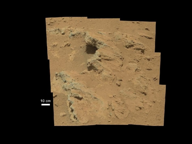 curiosity finds evidence of ancient flowing stream