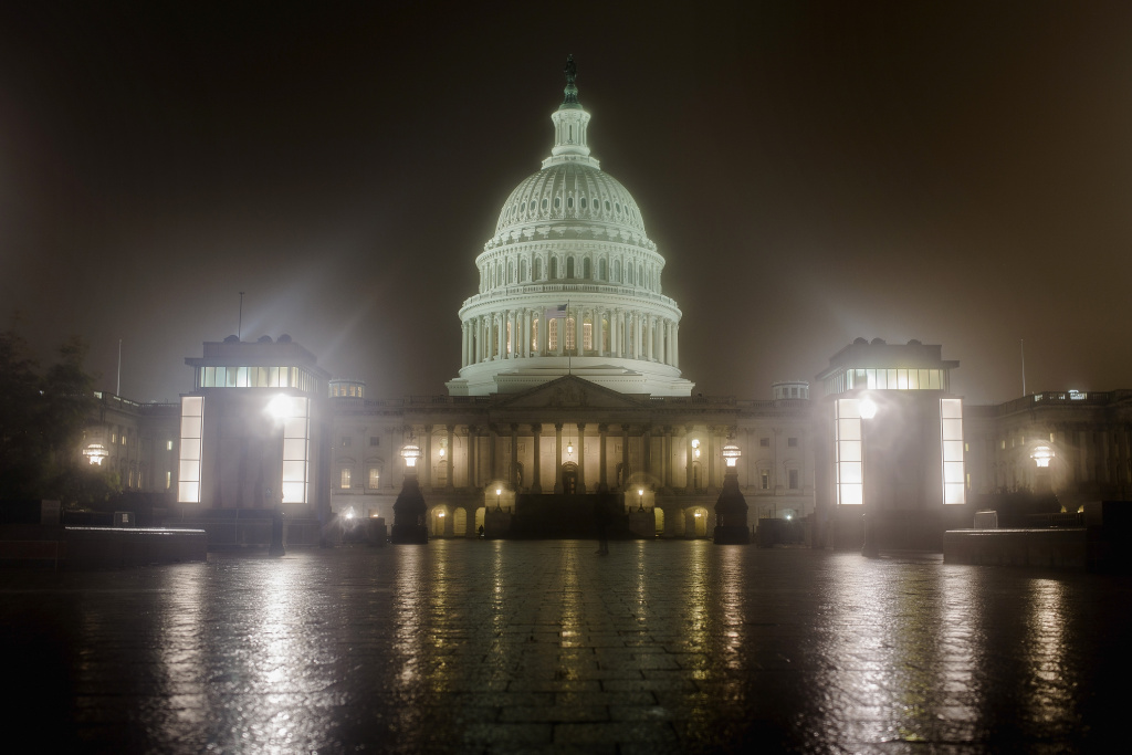 File photo: A shot of the U.S. Capitol Building on October 10, 2013 in Washington, DC.