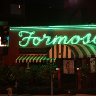 Exterior of the famous Formosa Cafe