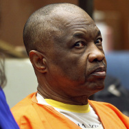 """Lonnie Franklin Jr., who has been charged with 10 counts of murder in what have been dubbed the """"Grim Sleeper"""" serial killings that spanned two decades, appears at a court hearing."""