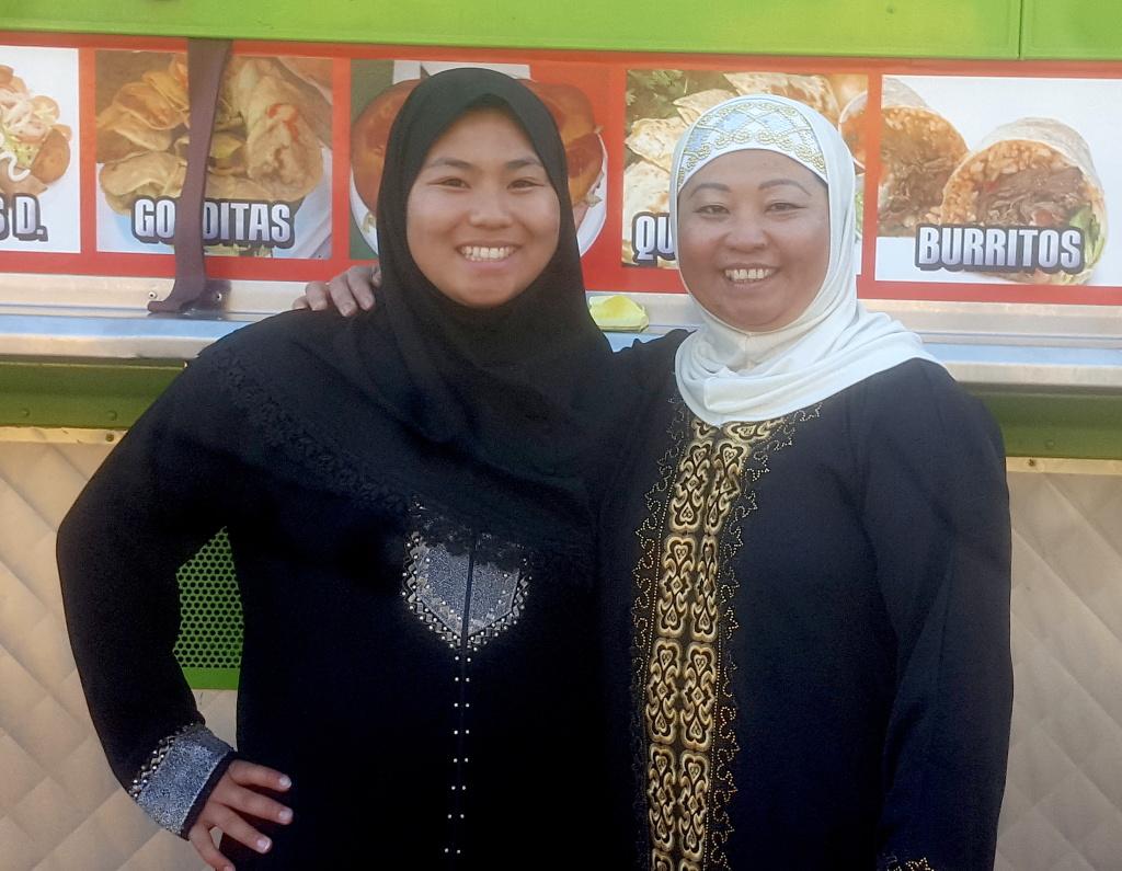 Sophy El and Halimas Sen.