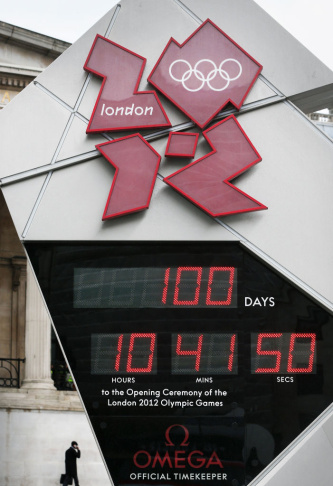 100 Days To Go To The Opening Of The London 2012 Olympics