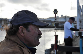 Sea urchin diver Bob Bertelli