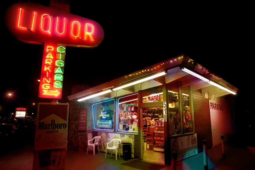 A liquor store in Los Angeles. Councilwoman Nury Martinez has proposed an ordinance that would ban new liquor stores in parts of the San Fernando Valley.