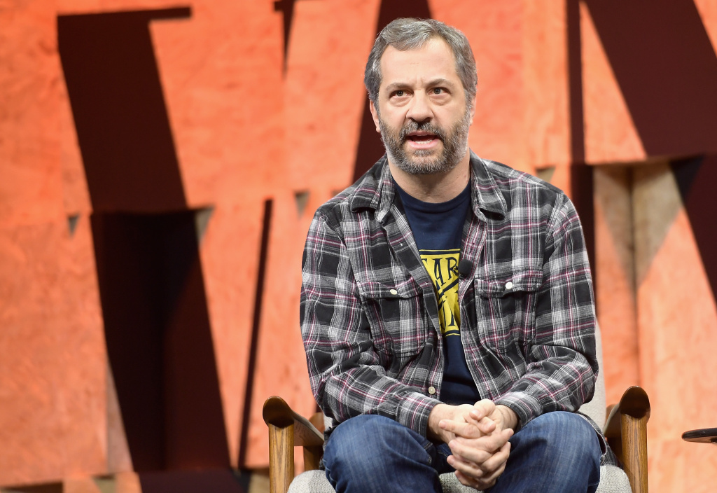 Judd Apatow at Vanity Fair's 2017 New Establishment Summit.