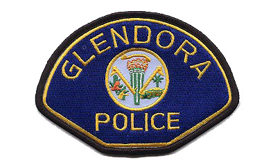 Glendora police patch