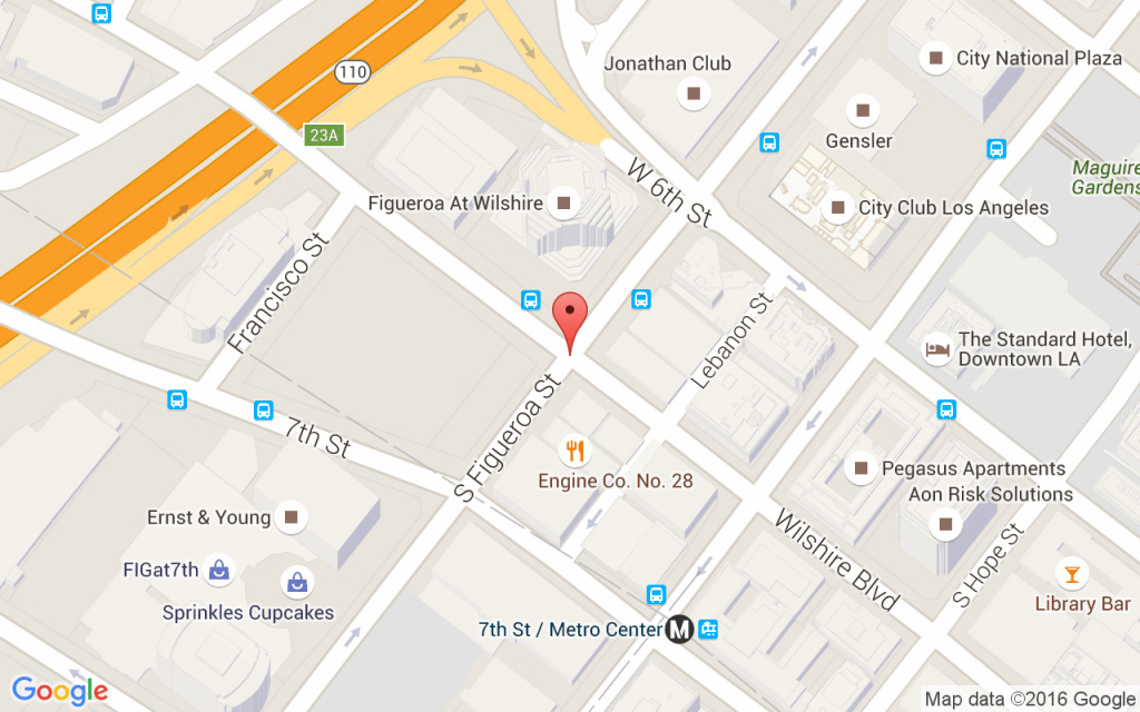 The location of the building where a construction worker fell 50 stories to his death on Thursday, March 17, 2016.