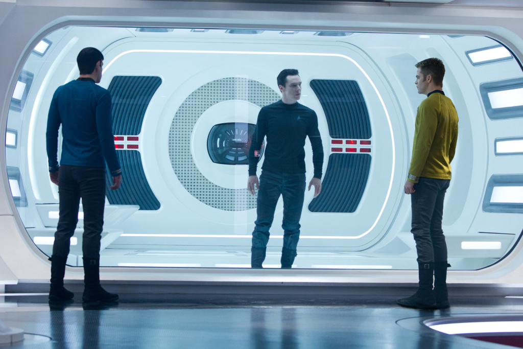 A scene from Star Trek Into Darkness