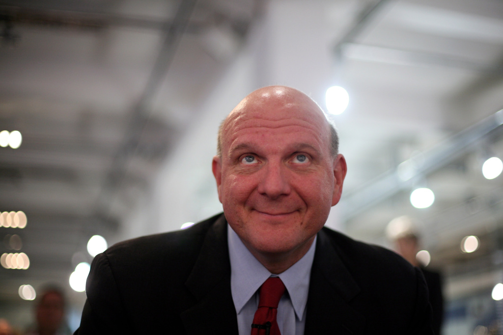 Former Microsoft CEO and new owner of the LA Clippers,  Steve Ballmer