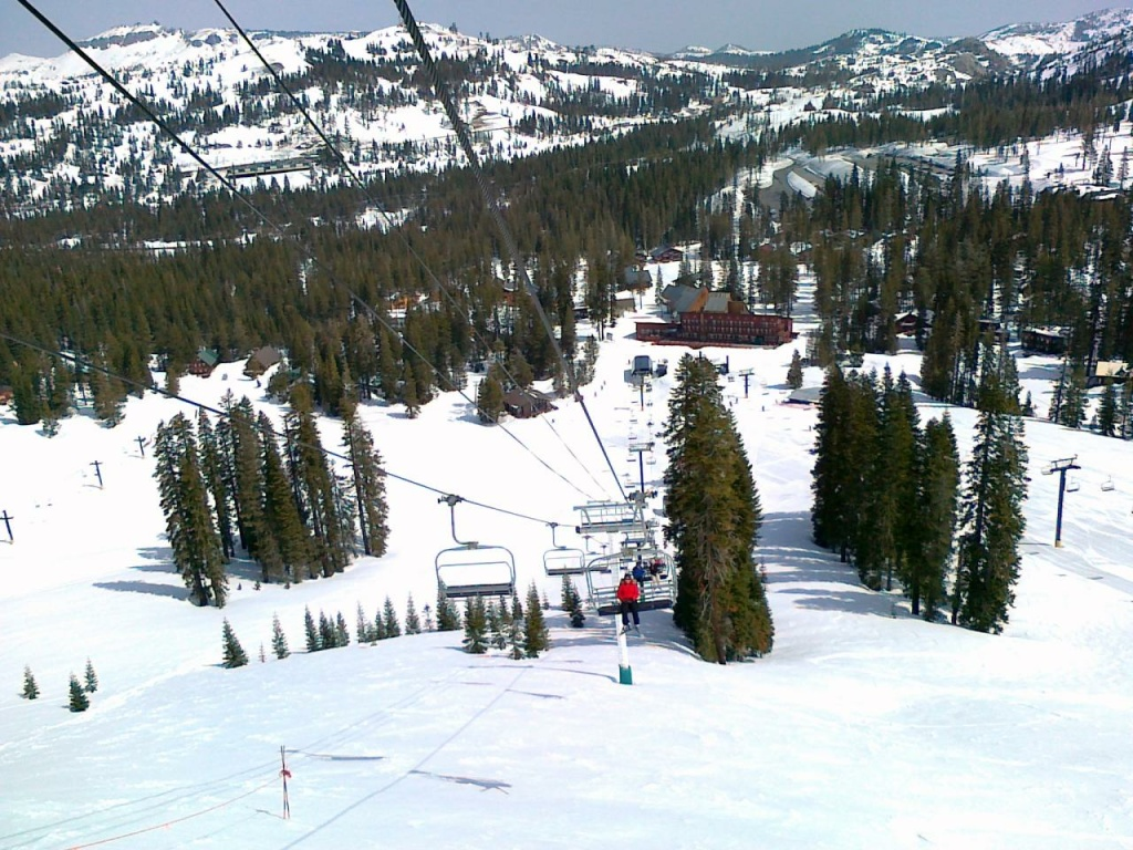 Sugar Bowl resort in 2011. The resort is closing early this season due to lack of snow.