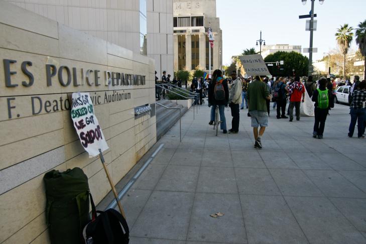 Occupy LA - December 3, 2011