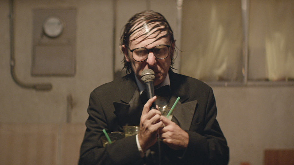 Neil Hamburger as he appears in ENTERTAINMENT, a Magnolia Pictures release.