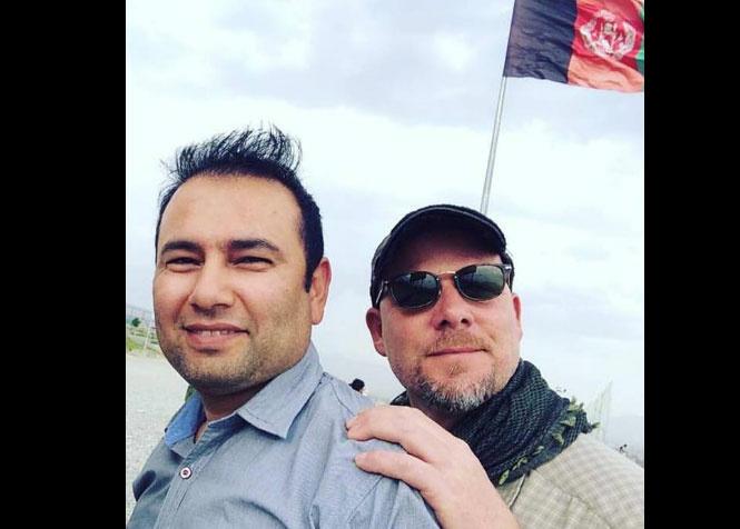 Zabihullah Tamanna (left) and David Gilkey (right)