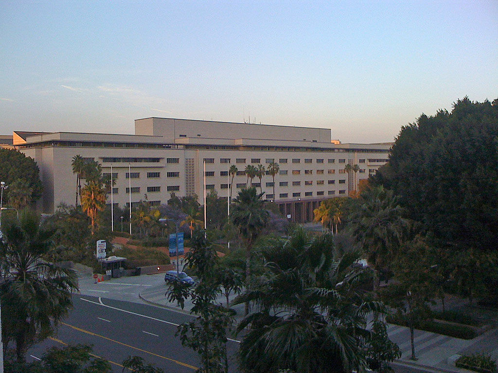 FILE: The Kenneth Hahn Hall of Administration, formerly Los Angeles County Hall of Administration.