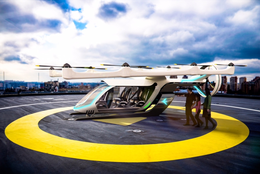 Embraer's electric vertical takeoff and landing vehicle could be used to fly passengers in a ride-hail service in Los Angeles by 2023.