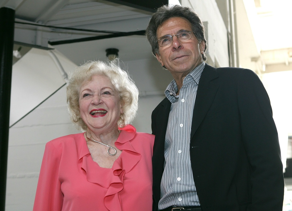 Actress Betty White and producer Paul Junger Witt attend the