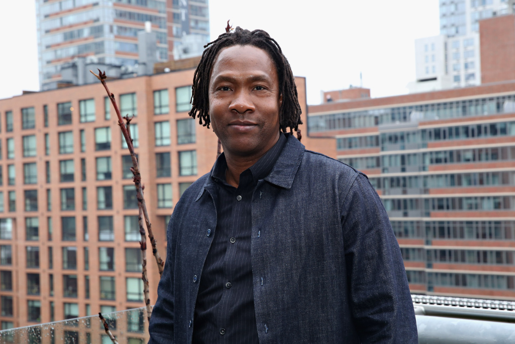 Director Roger Ross Williams attends the CNN Films Cocktail Reception during the 2015 Tribeca Film Festival at Hotel Americano on April 20, 2015 in New York City.