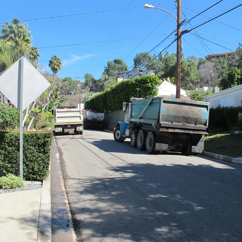 Neighbors regularly take photos of instances they deem unsafe.