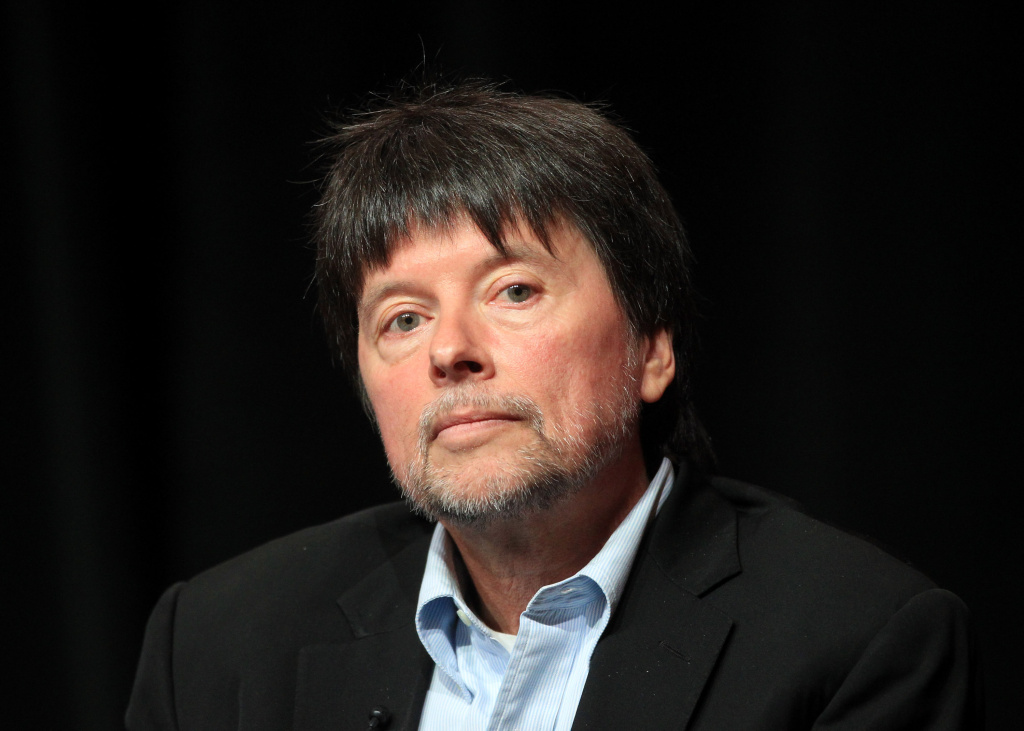 Filmmaker Ken Burns speaks onstage at