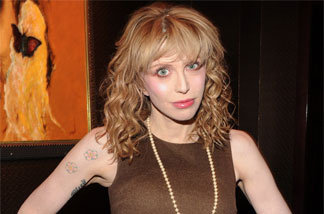 Courtney Love, Nov. 1, 2010, in New York City.