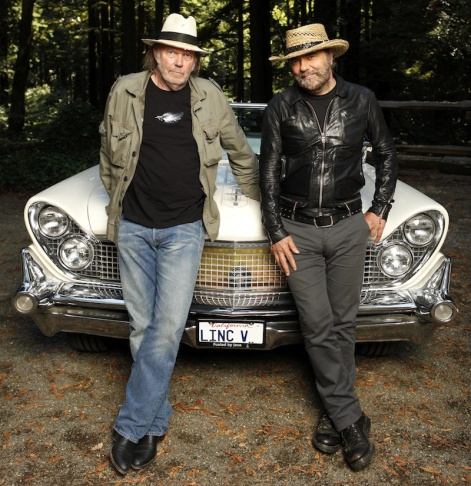 Neil Young LincVolt 1959 hybrid LINCOLN CONTINENTAL