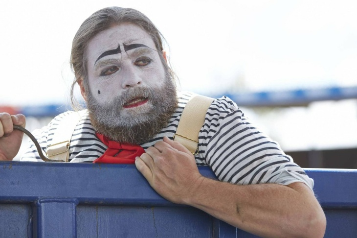 Zach Galifianakis as Chip Baskets in a scene from