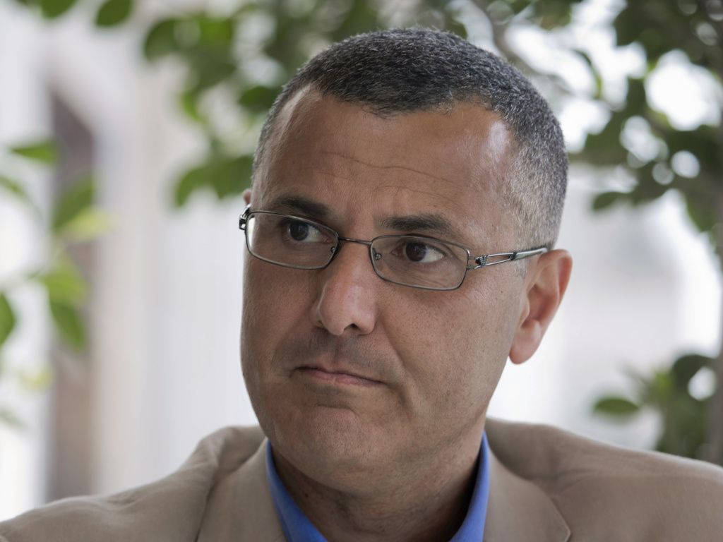 Omar Barghouti in 2016. A Qatari-born Palestinian, Barghouti is a leader of the international boycott, divestment and sanctions movement against Israel known as BDS.