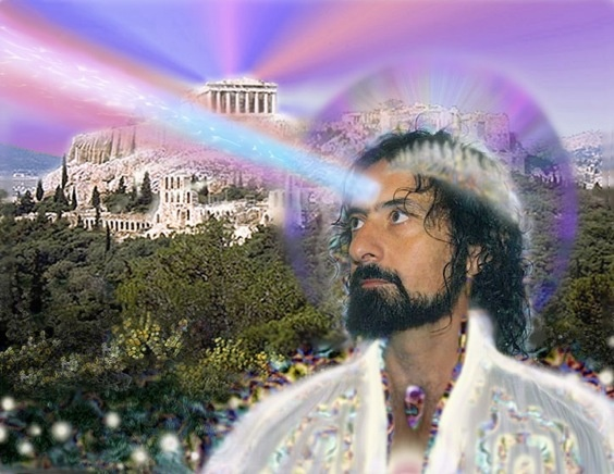Image of Greek-American New Age musician Iasos.