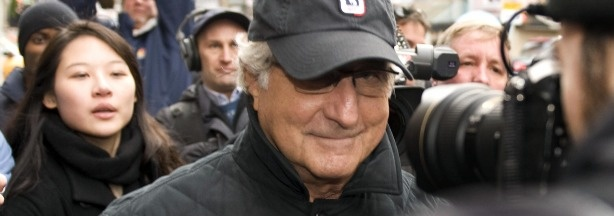 In 2008 Bernie Madoff confessed to running a Ponzi scheme for almost 20 years that defrauded investors of allegedly $50 billion; in 2009 a U.S. District Judge sentenced him to 150 years in prison.