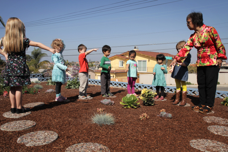 Zero Water Preschool Garden - 1
