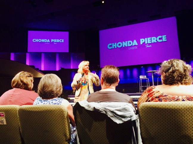 Pierce recently performed to a big crowd at Purpose Church in Pomona.